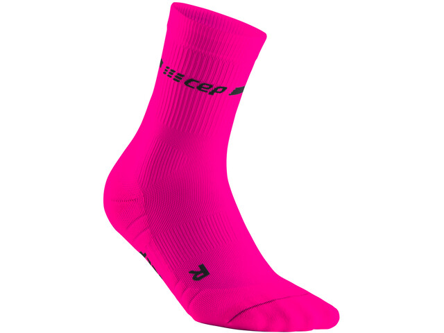 cep Neon Mid-Cut Socks Women, neon pink